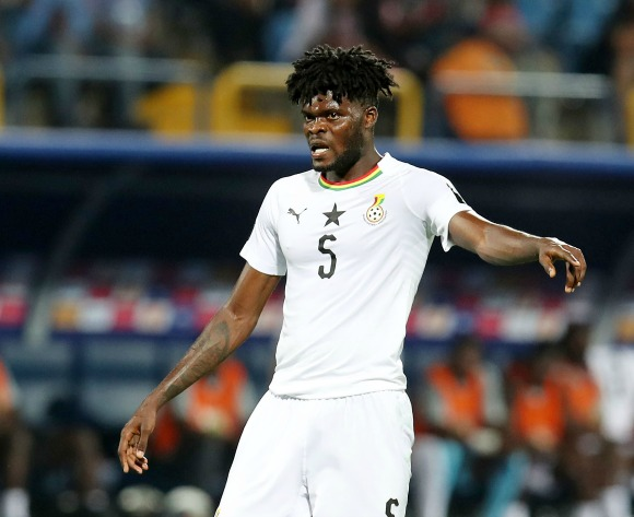 Partey replaces Asamoah as Ghana vice-captain