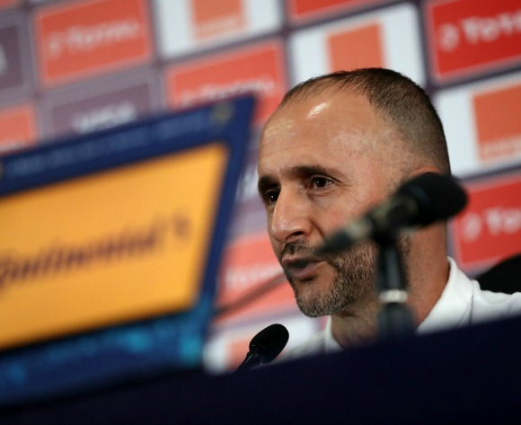 Algeria extend Djamel Belmadi's contract