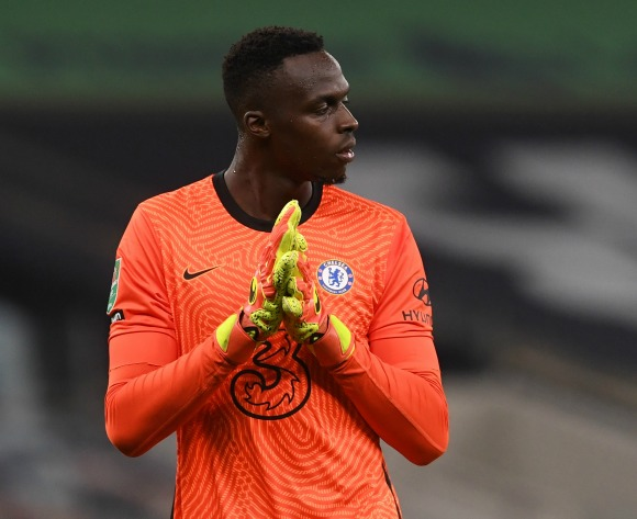 Lampard: Mendy is Chelsea's first-choice keeper