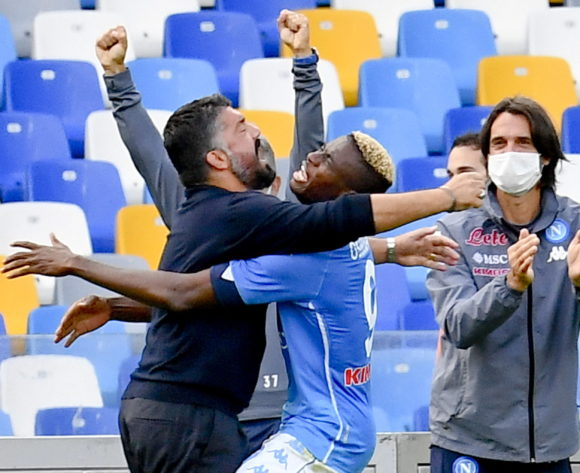 WATCH: Osimhen breaks his Napoli duck