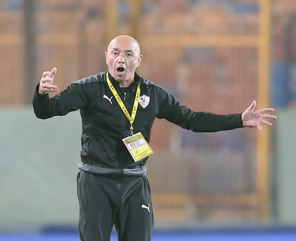 Zamalek's Pacheco makes excuse after CCL & Egypt Cup defeats