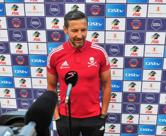 Zinnbauer warns Pirates: 'Chiefs an improved team'