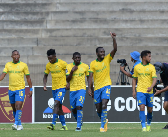 Shalulile heads Sundowns past Stellies, four points clear