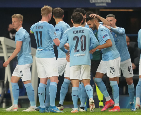Man City's Mahrez admits PSG winner was miss-hit