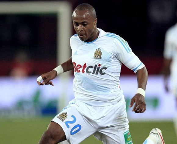 Andre Ayew trains alone at Marseille